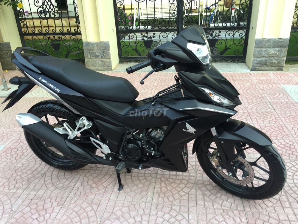 Honda Winner 150 FI màu đen nhám-218-300km
