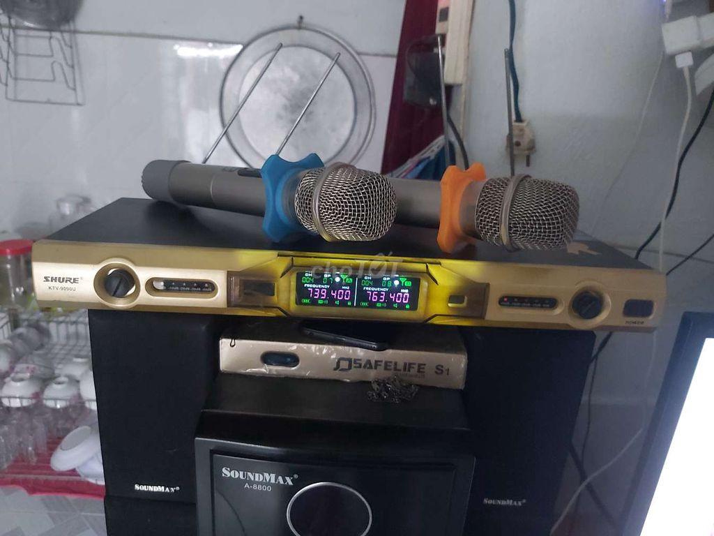 0969749614 - Micro không rây SHURE KTV-9090U