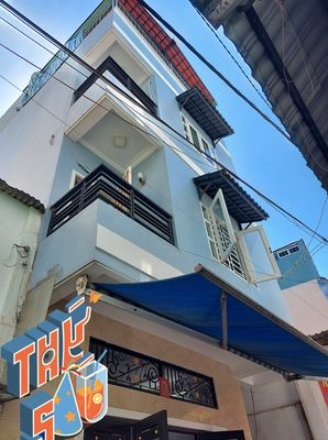 Nhà 4 tầng HXH Lạc Long Quân, cách MT 1 căn