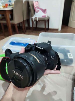 Canon 700D + Tamron 17-50 vc + canon 50mm f1.8 II