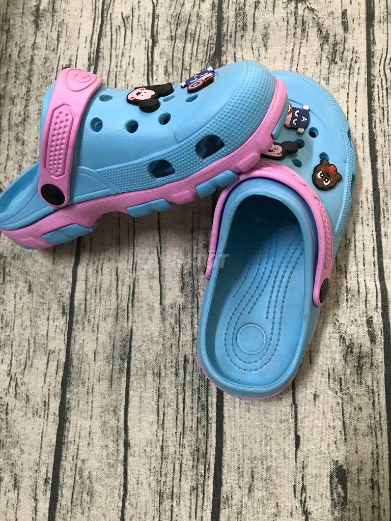 Dép crocs,xanh lam,size 36-38