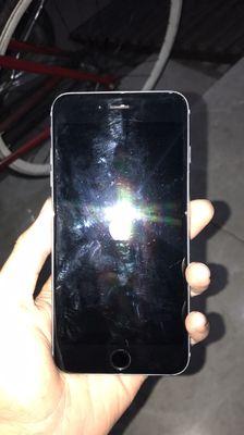 Bán xác iphone 6 chớp tắt màn hình có lúc lên
