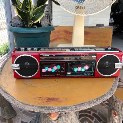 RADIO CASSETTE SHARP QT77 MKII zin 100%