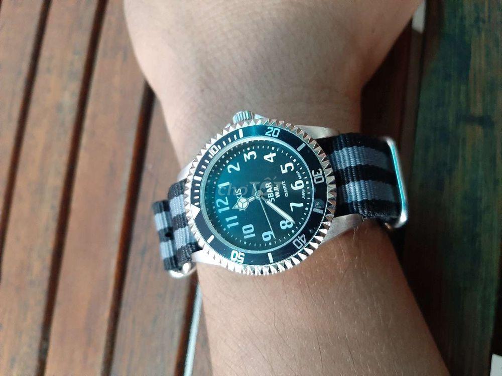 Đồng hồ Nhật bản nam to đẹp