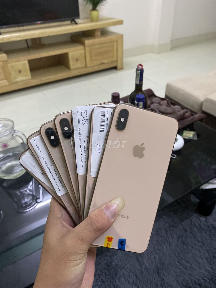 IPHONE XS MAX LOCK 64G TRẢ GÓP TRẢ TRƯỚC 1T