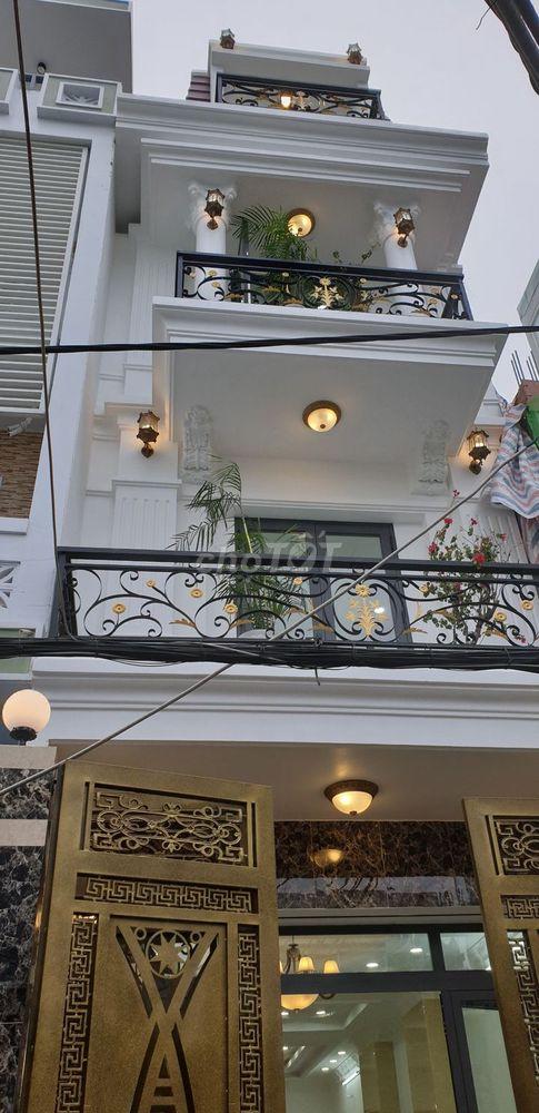 Nhà đẹp HXH Trần Trọng Cung 4x18 m , 4 Phòng ngủ