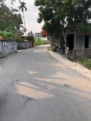 Chào bán lô mặt đường thôn Hầu Lâm Động