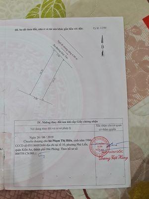 93.5m2 ngang 5m thổ cự bệnh viện Kiến An