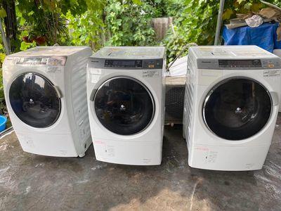 Máy giặt Panasonic 9kg cửa ngang, giặt êm ru.