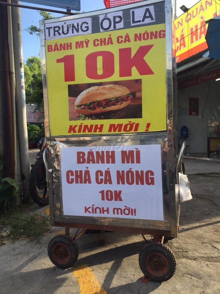 0797762082 - Bán xe bánh mỳ chả cá