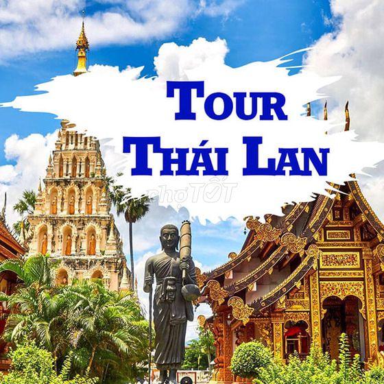 Tour Du Lịch Thái Lan 5 Ngày 4 Đêm - Tháng 8