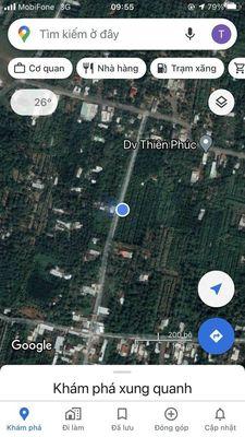 Mặt tiền 21m xã Phước Thạnh huyện Châu Thành