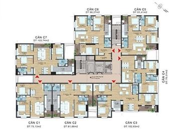 Chính chủ bán căn B tầng 11 tòa 282 Nguyễn Huy Tưở