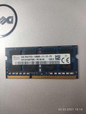 Ram laptop 4G ddr3