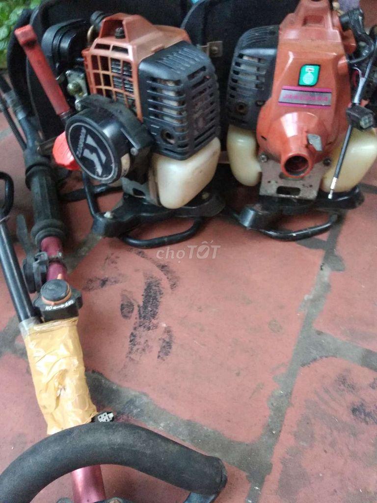 0916196019 - Máy cắt cỏ ba lô echo có trợ giật