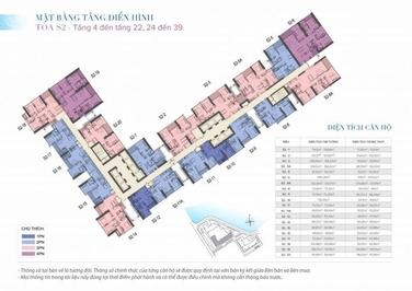 Bán cắt lỗ 400tr căn Vinhomes Skylake 69m² 2PN