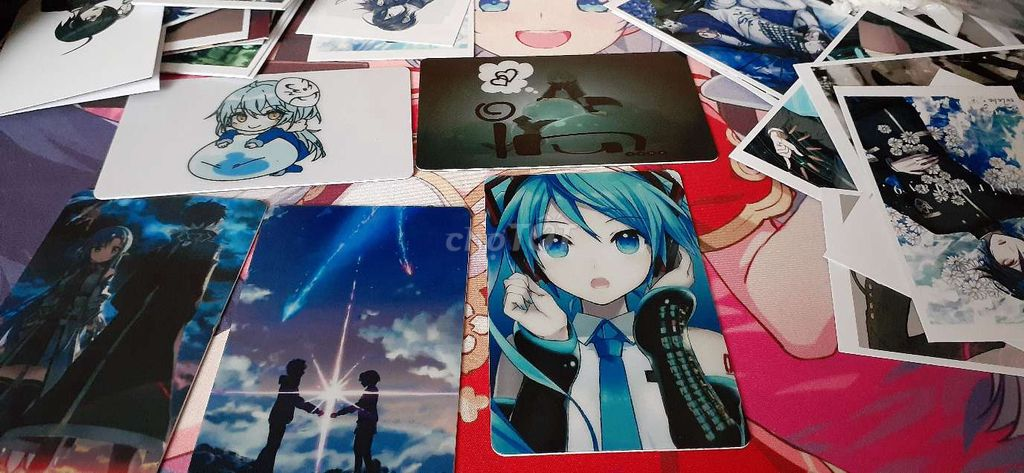 In card nhựa anime (30k/thẻ   99k/4 thẻ)