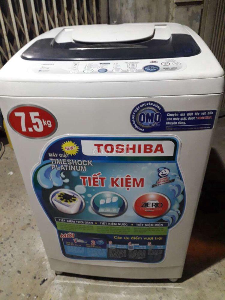 Máy giặt toshiba 7,5kg cửa trên