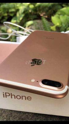 Apple iPhone 7 plus 128 GB vàng hồng máy còn đẹp