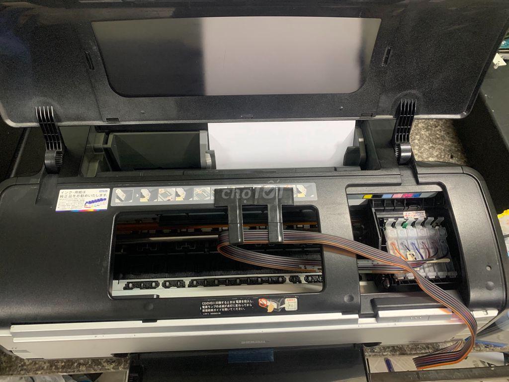 0764914609 - Máy in màu A3 Epson G4500 nhật, đầu in cực đẹp