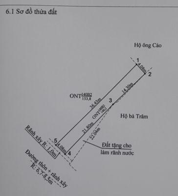 Bán đất mặt đường liên thôn 8m thôn Hầu Lâm Động