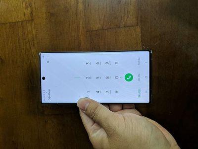 Samsung Note 10 Bạc 256 GB 5G nứt kính như hình