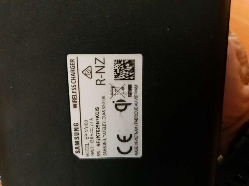 Sạc đôi nhanh không dây chính hãng Samsung,FullBox