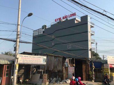 Cao ốc mặt tiền kd Hà Huy Giáp đang cho thuê 100tr