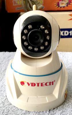 - VDTECH VDT-126IPWS10 camera IP robot, hàng chính