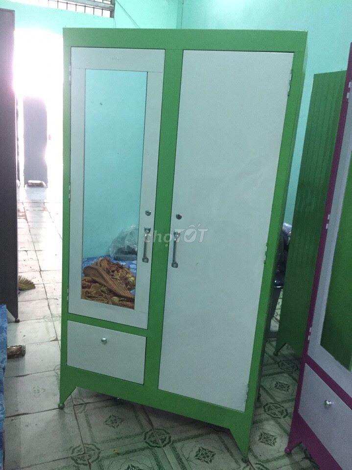 Tủ sắt đựng quần áo, sinh viên pt NEW FREESHIP HCM
