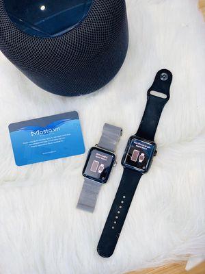 ⌚Apple watch sr 3 - 42mm thép đen, trắng LTE