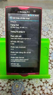 Điện thoại Nhật Fujitsu f05D 95% Đẹp