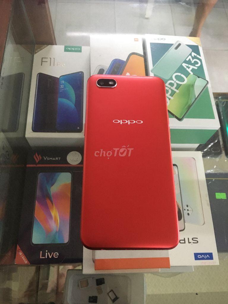 Oppo A1k black 32GB màu đỏ đẹp keng