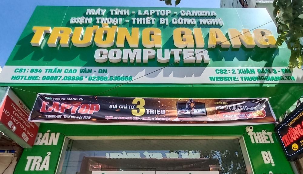 Cửa hàng bán laptop cũ Đà Nẵng - Trường Giang