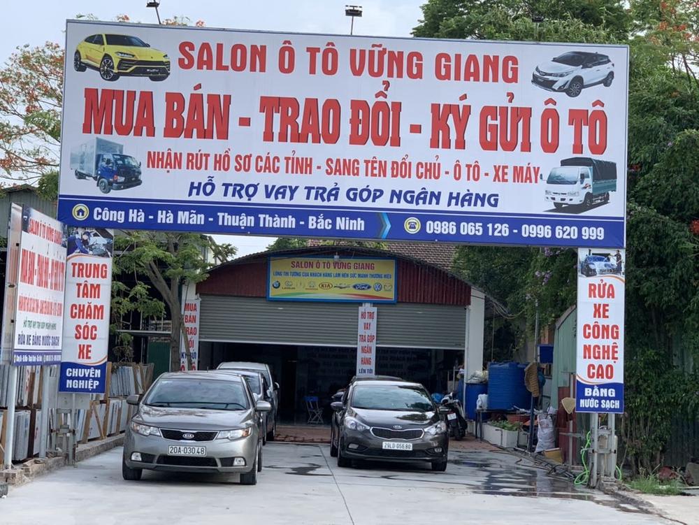 salon oto vung giang