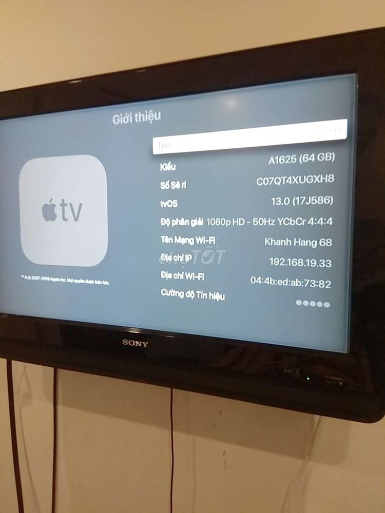 Apple tv đee ..ra bèo
