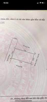 Bán lô đất đẹp tại ngõ 172 Cát Linh, Tràng CáT 42m