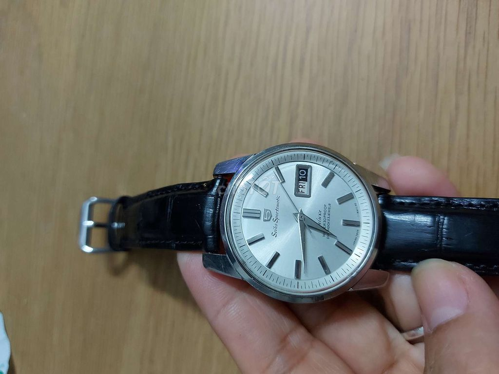 0986565779 - Đồng hồ nam Seiko sportsmatic Deluxe
