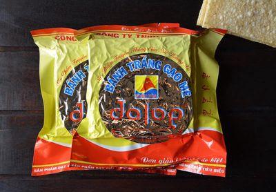 Bánh tráng gạo mè nướng Dalop - Đặc Sản Bình Định