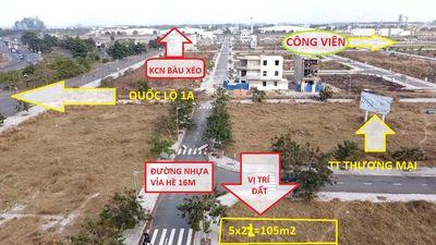 Bán Gấp Lô Đất 105m2 Trung Tâm Thị Trấn Trảng Bom