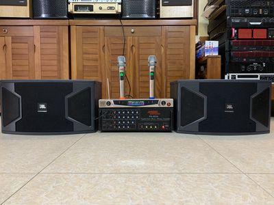 KM Bộ dàn karaoke gia đình JBL 310,Micro BOSE 9999