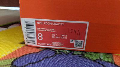 Giày Nike Zoom Gravity size 39.5