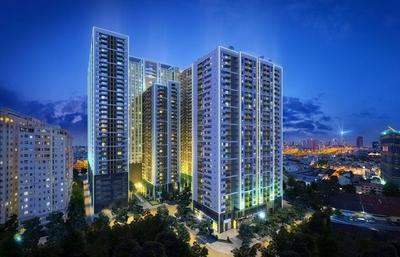 Chung cư The Gold View 117m² 3PN