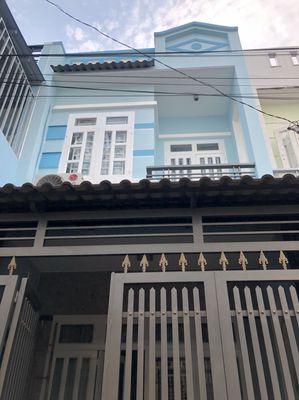 Bán nhà 4x9m, 1 lầu, hẻm thông, quận BT