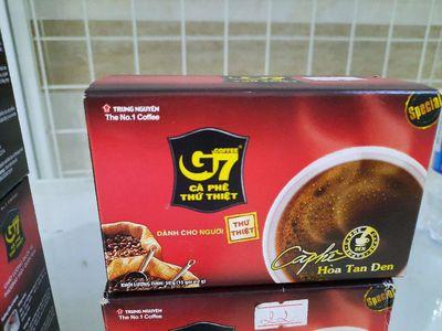 Cà phê sữa G7, cà phê đen không đường G7. Giá mềm