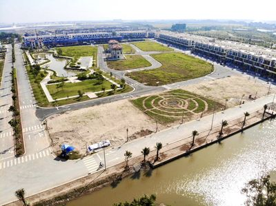 Nhà phố ven sông hiếm Centa City Vsip