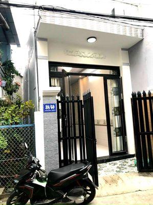 Nhà 1T1L hẻm 38 Trương Định An Cư lộ 4m giá 2ty8