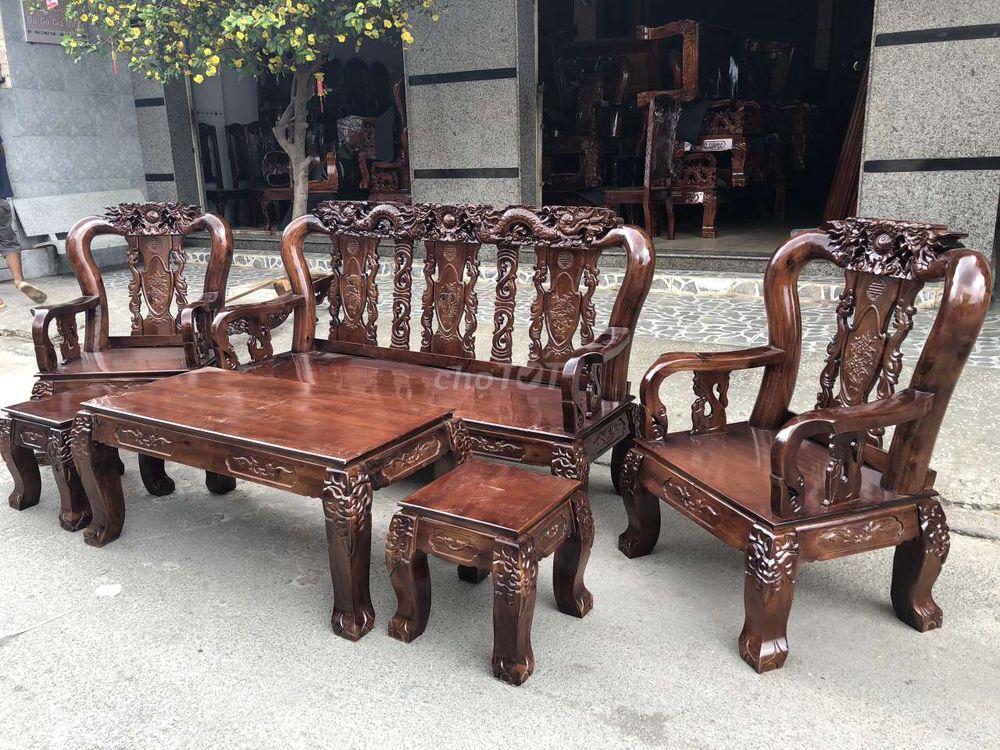 Ghế salon Phòng khách gỗ xoan đào