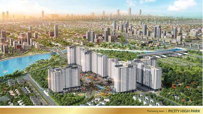 Chung cư PiCity High Park 57m² 2PN, 42 triệu/m2