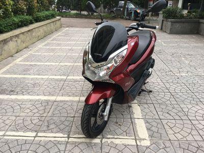 Honda PCX 125 màu đỏ mận chính chủ đời chót 2015